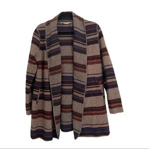 Soft Surroundings wool cardigan sweater longline